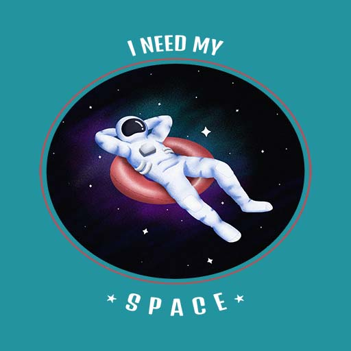 Relaxed Astronaut Hues Hive