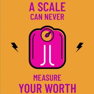 A_Scale_can_never_measure_your_worth_Fitness_Tshirt