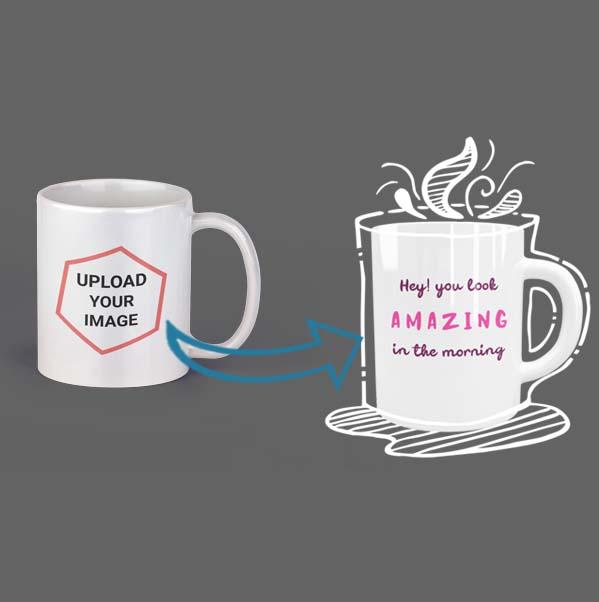 Custom Designed Coffee Mug by Hues Hive 11oz