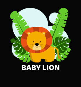 Baby_Lion_Hues_Hive_Qatar_Kids_Collections