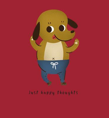 Just_Happy_Thoughts_Hues_Hive_Tshirt