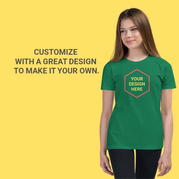 Girl's Premium_Tshirt_customise_in Qatar_by_Hues_Hive